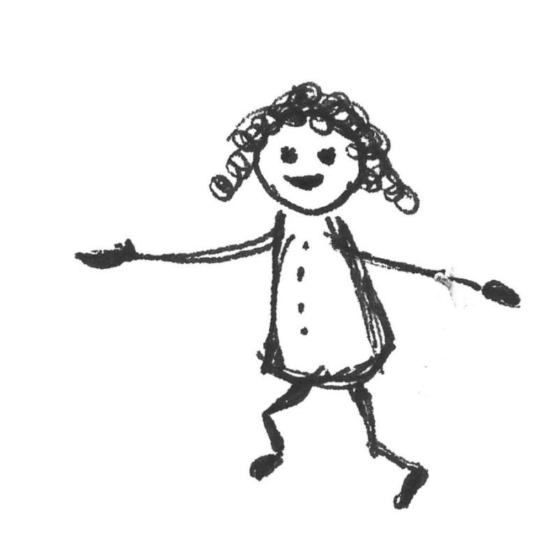 Kind Kinderzeichnung