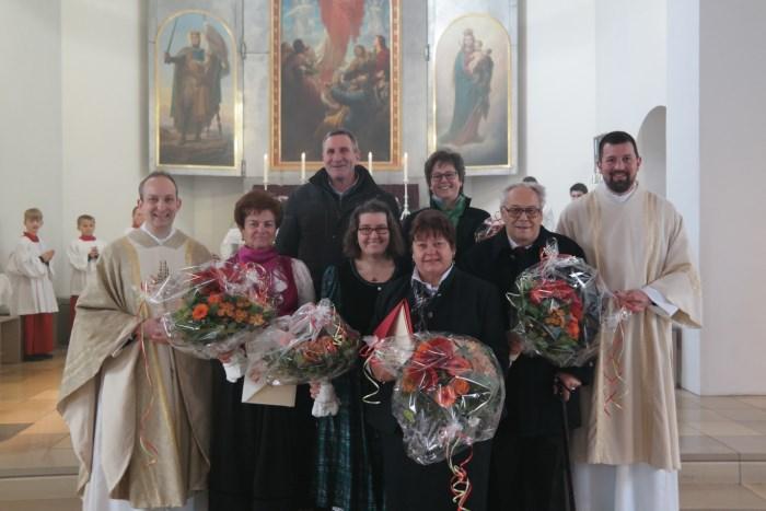 Oberau ehrt Jubilare, Foto:Regina Bachhuber-Gall