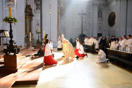 Taufe in St. Michael