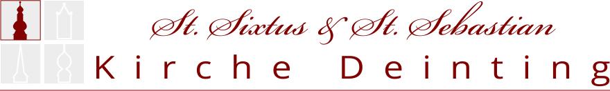 Header St. Sixtus + St. Sebastian Deinting