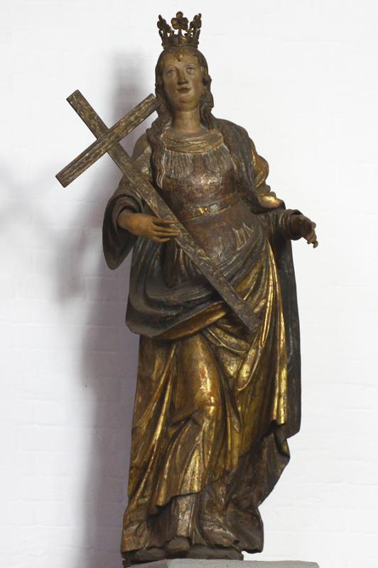 Statue der heiligen Helena in unserer Kirche