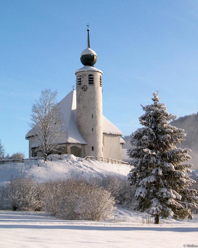 St. Vinzenz im Wintergewand