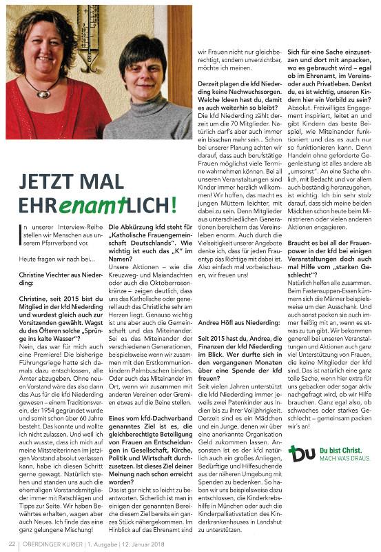 2018-01-12_Pressebericht_Ehrenamt_Pfarrgemeinderat_Oberdinger_Kurier_03