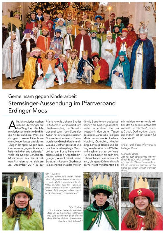 2018-01-12_Pressebericht_Aussendung_Sternsinger_PV_Oberdinger_Kurier_03
