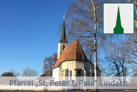 Pfarrei Lindach mit Logo
