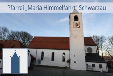 Pfarrei Schwarzau mit Logo