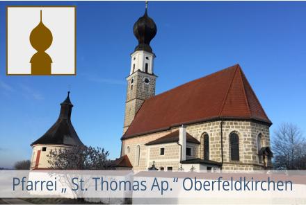 Pfarrei Oberfeldkirchen mit Logo