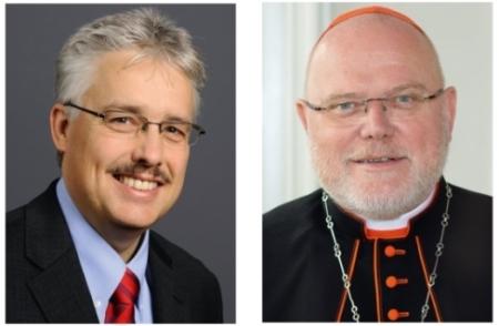 Prof. Tremmel und Kardinal Marx