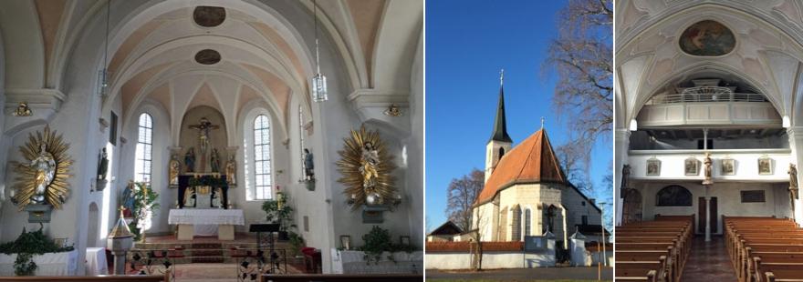 Kirchenansicht Lindach