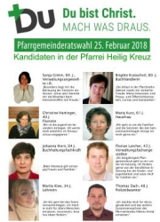 Klein-Wahlplakat