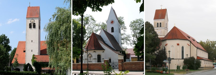 Kirchen des Pfarrverbandes