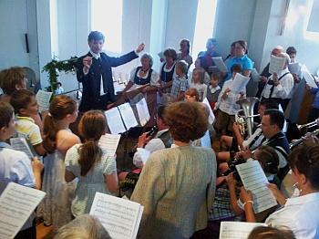 Kinderchor beim Patrozinium 2013 in St. Otto