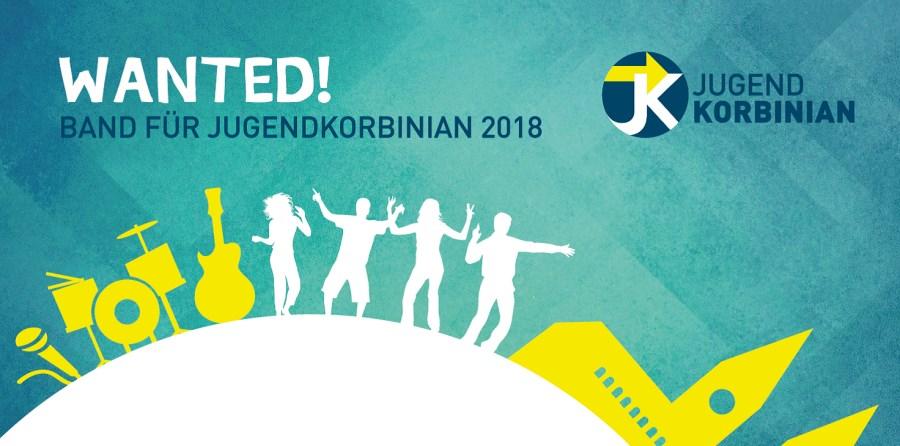 Teaserbild für Bandwettbewerb Jugendkorbinian 2018