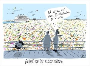 "Karikaturenausstellung ""Glänzende Aussichten"""