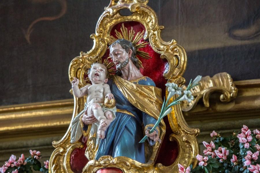 Josefsfigur in St. Josef Rosenheim