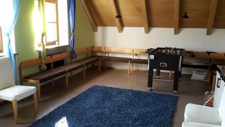 Pfarrheim Jugendraum Bild 1