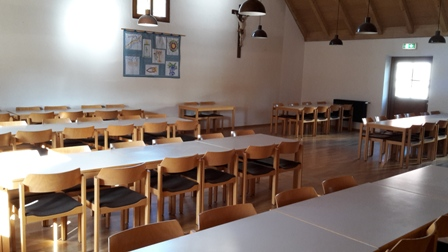 Pfarrheim Saal Bild 1
