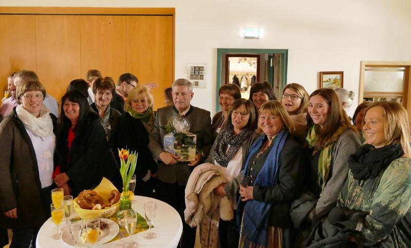 Abschied Strobl Kindergartenteam