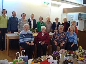 Frauenkreis für Osterbasar 2018 in St. Otto