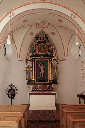 Altar St. Sebastian schmal