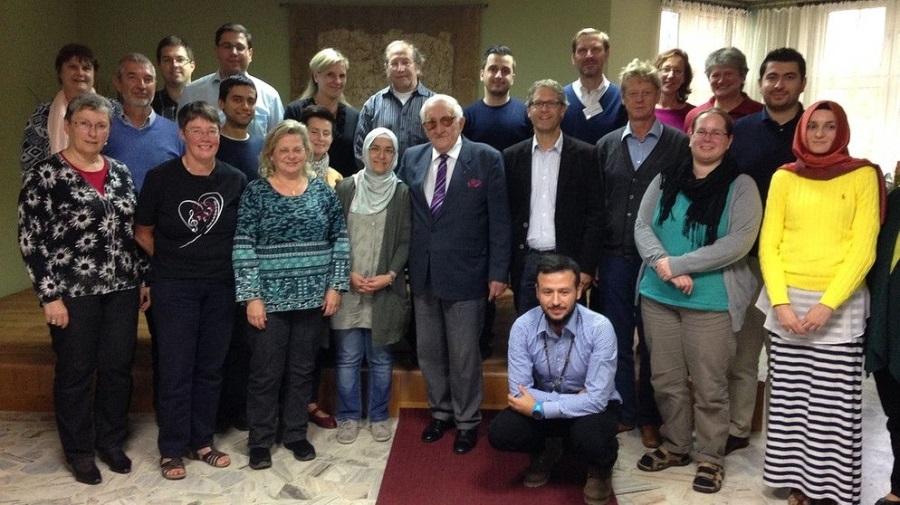 Muslime und Christen besuchen gemeinsam das KZ in Ausschwitz 2