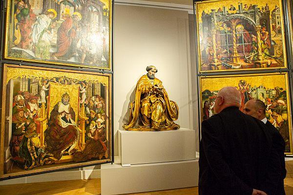 Ausstellungseröffnung Erasmus Grasser