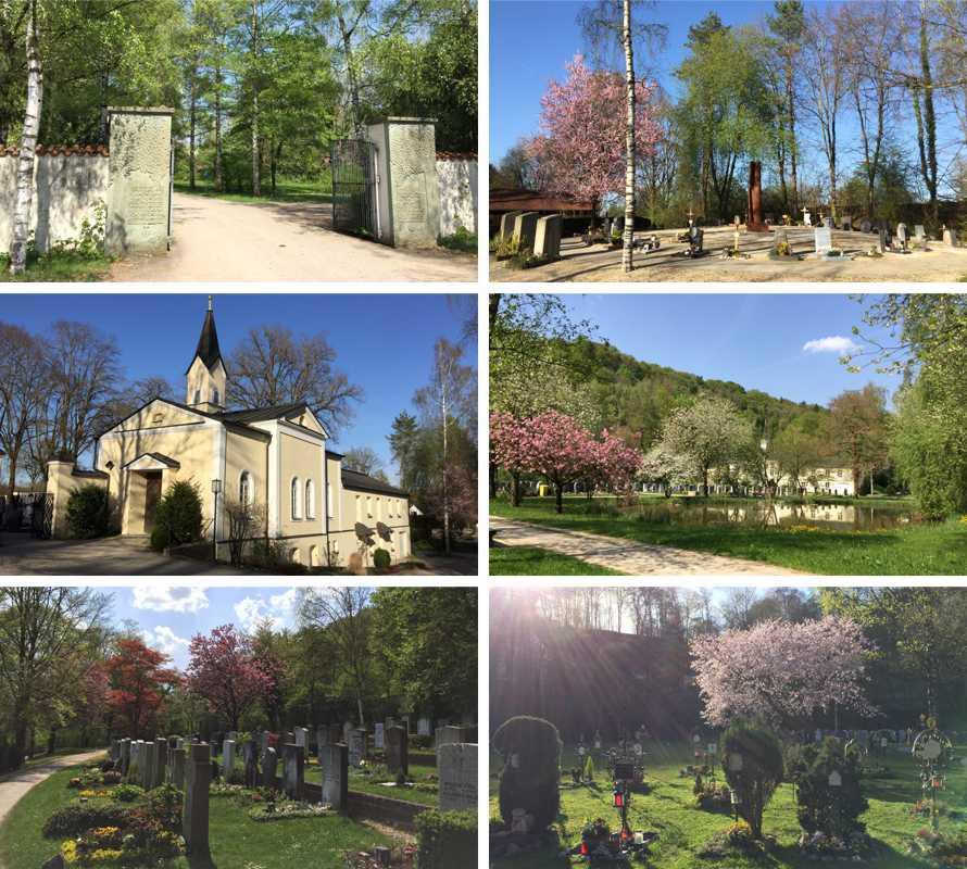 Collage_Friedhof_Trostberg