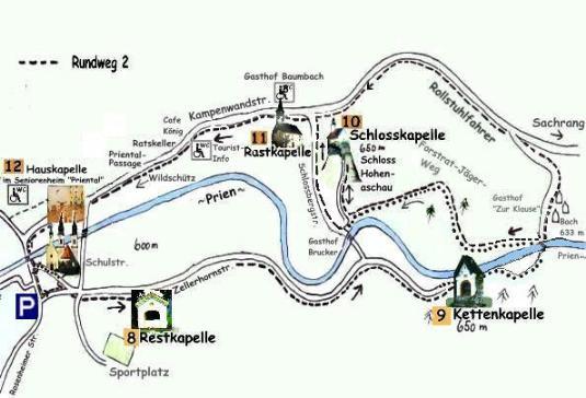 Neueste Lageskizze Kap.weg2<br/>vom 25.10.03