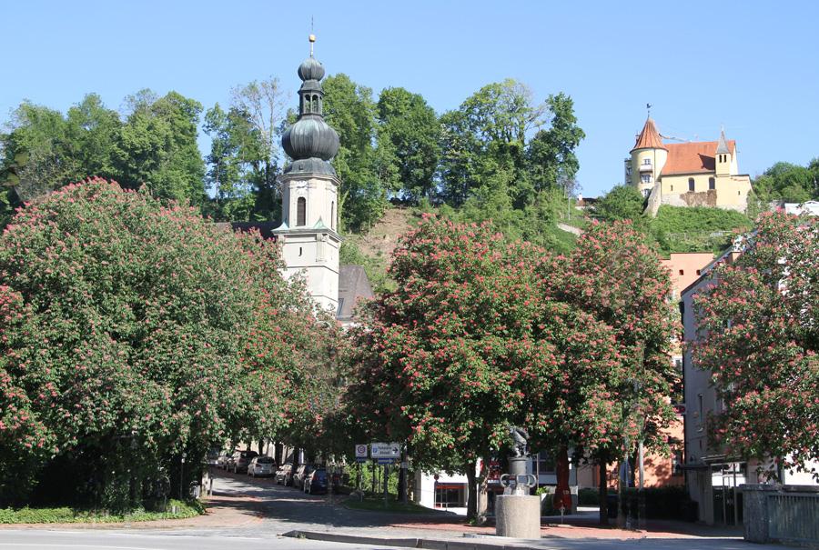 Bild_Kirchen_St.Andreas und St. Micheal Trostberg