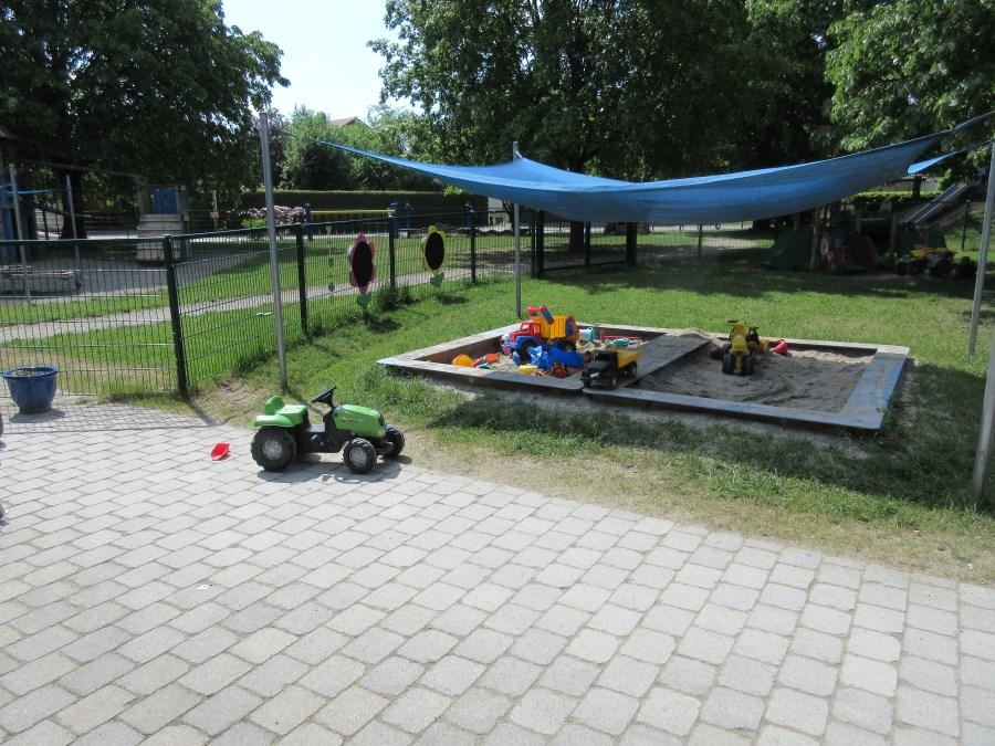 Aufnahme vom Kirppengarten