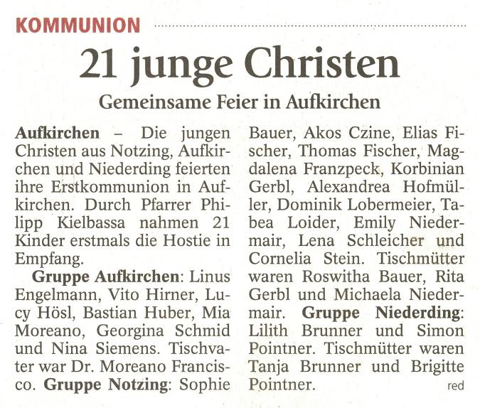 2018-05-23_Pressebericht_Erstkommunion_Aufkirchen_Notzing_Niederding_Erdinger_Anzeiger_03