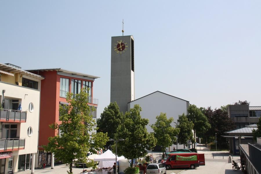 Aussenansicht Pfarrkirche