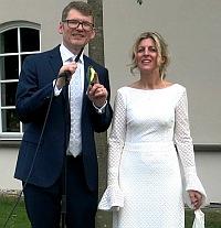 Hochzeit in St. Ägidius: Chistoph Koscielny un Grazia Siino