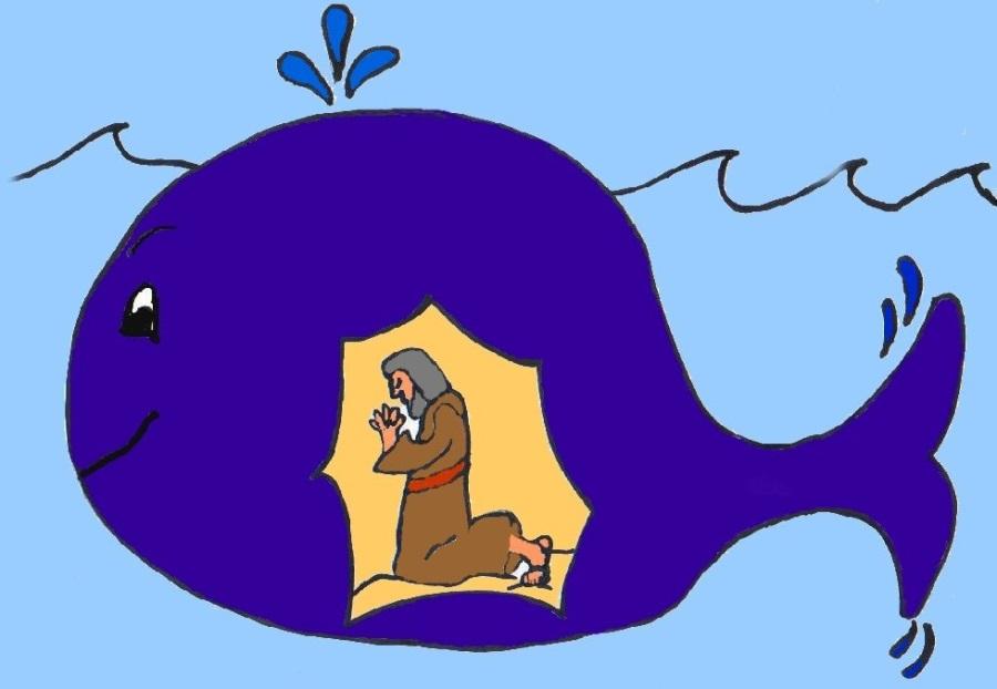Jona im Fisch