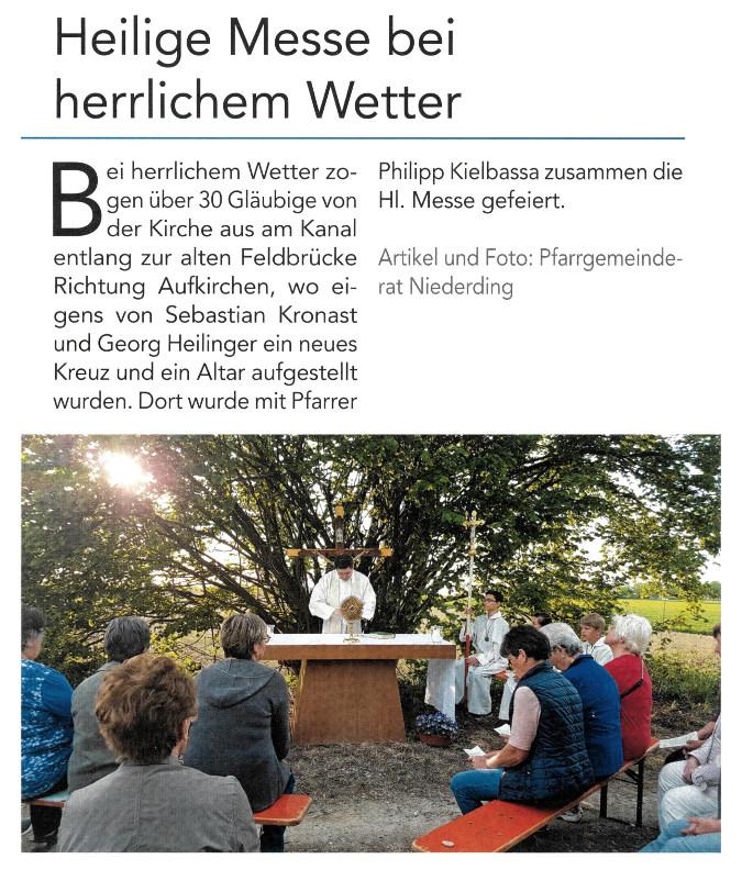 2018-06-15_Pressebericht_Bittgang_Niederding_Oberdinger_Kurier_02