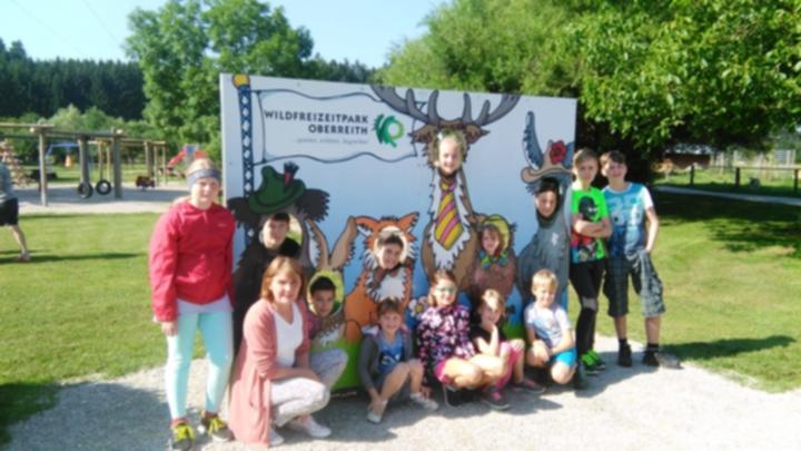 Ausflug Wildpark Oberreith 2018