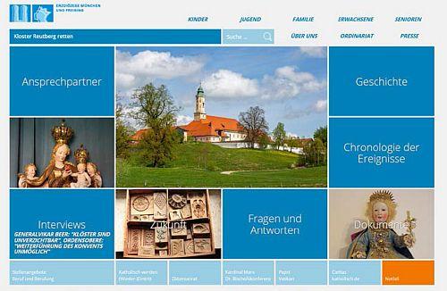 Homepage Kloster Reutberg