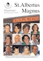 Titel Weihnachten 2004 St. Albertus Magnus