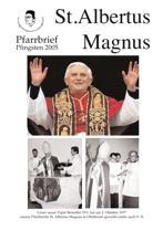 Titel Pfingsten 2005 St. Albertus Magnus