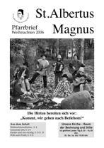 Titel Weihnachten 2006 St. Albertus Magnus