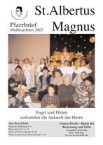 Titel Weihnachten 2007 St. Albertus Magnus