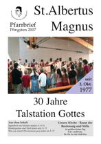 Titel Pfingsten 2007 St. Albertus Magnus