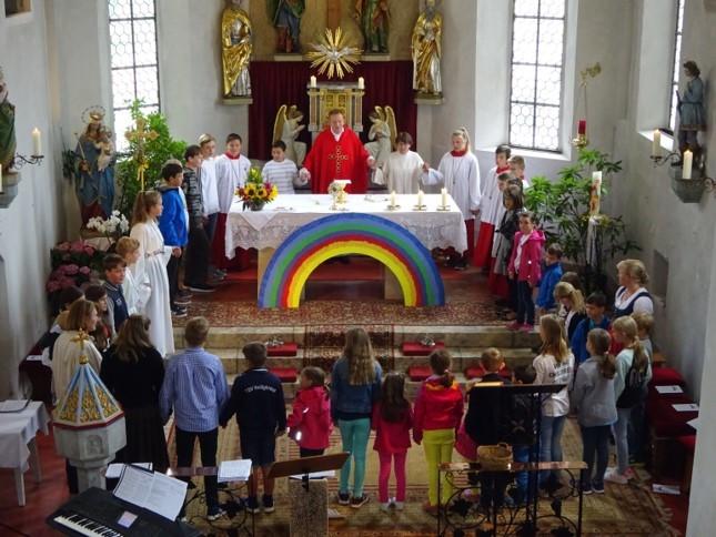 Familiengottesdienst Regenbogen