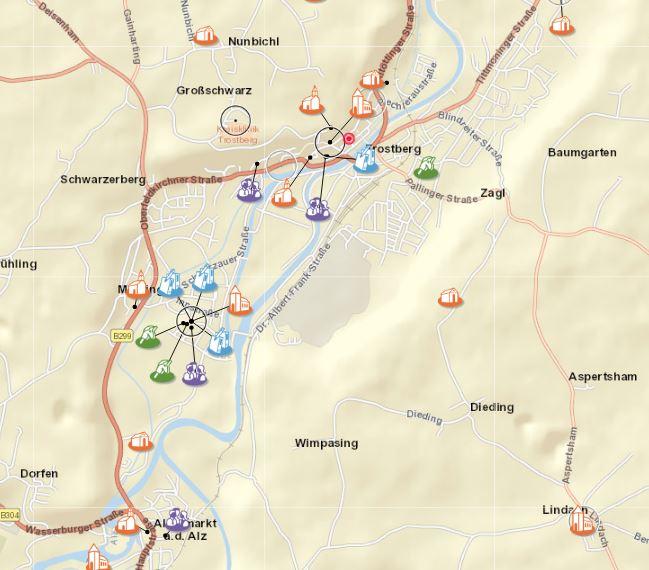 Grafik für Gottesdienstkarte