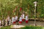 Die Pilger aus St. Wolfgang auf der Stepfen