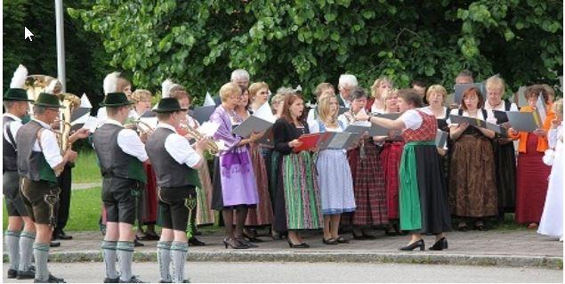 Chor der Pfarrei St. Leonhard