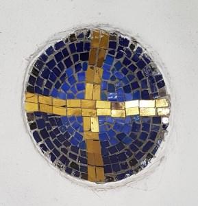 Kerzenhalter Mosaik