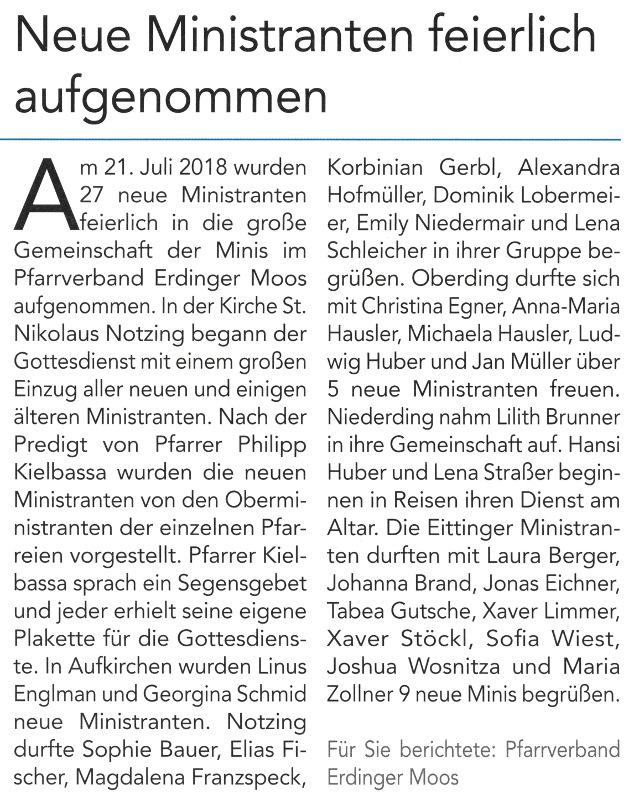 2018-08-24_Pressebericht_Neue_Ministranten_im_PV_Oberdinger_Kurier_05