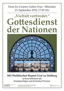 Gottesdienst der Nationen 2018
