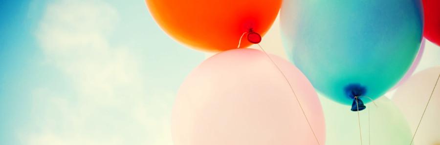 Kopfgrafik Luftballons